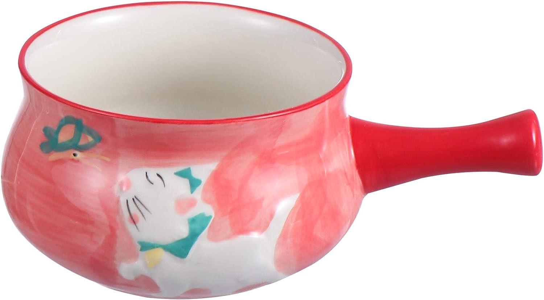 Cabilock Kitchen Ceramic Milk Pot Mil Opening large release sale Nonstick Cartoon Sauce Virginia Beach Mall Pan