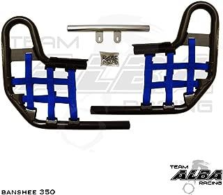Yamaha Banshee YFZ 350 (1987-2006) Standard Nerf Bars Black Bars w/Blue Net