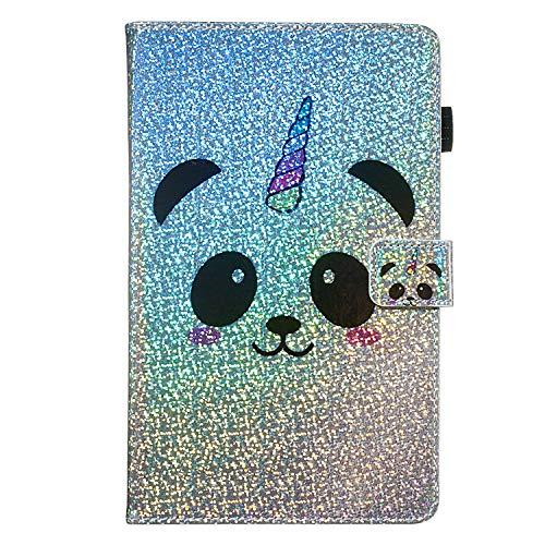 Candy House - Funda para tablet Samsung Galaxy Tab A de 7,0 pulgadas SM-T280 SM-T285, con purpurina y función atril, cierre magnético (bonito...