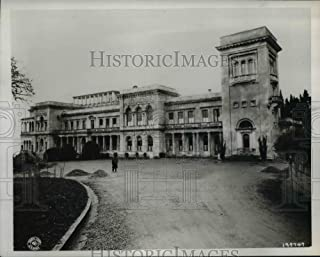 Vintage Photos 1947 Press Photo Churchill Roosevelt & Stalin Meeting Place in Yalta Russia