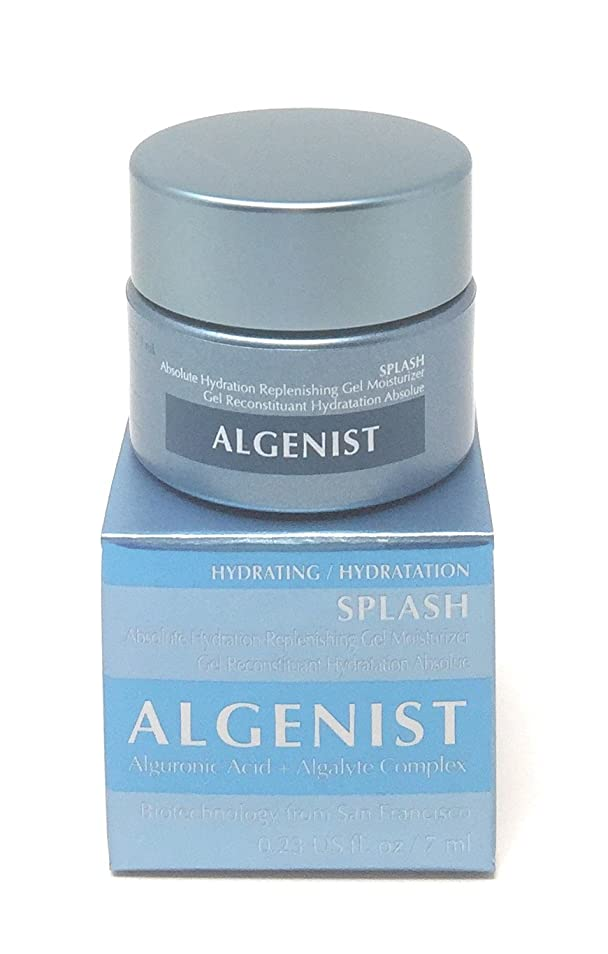 モスク乳白順応性アルゲニスト SPLASH Absolute Hydration Replenishing Gel Moisturizer 60ml/2oz並行輸入品