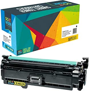 Do it Wiser Remanufactured Toner Cartridge Replacement for HP 507X HP 507A CE403A HP Laserjet Enterprise M551n M551dn M551xh M570dw M570dn M575c M575dn M575f (Yellow)