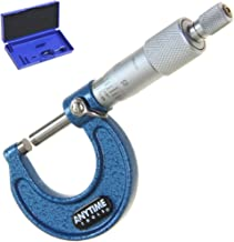 """Anytime Tools Micrometer 0-1"""" /0.0001 Outside Premium Precision Machinist Tool"""