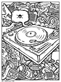 Trends International Turntable 18'x 24' Coloring Poster