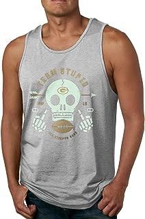 Skulls Men's Sleeveless Garment Tank Top Shirt Black
