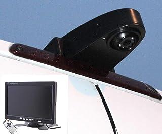 NOYES Komplettset Rückfahrkamera Transporter mit 7' Monitor und 15m Spezialkabel Sprinter Crafter Ducato Transit und viele Typen mehr Transporterkamera