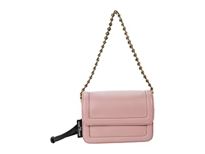 Marc Jacobs The Mini Cushion Bag (Pink Rose) Handbags