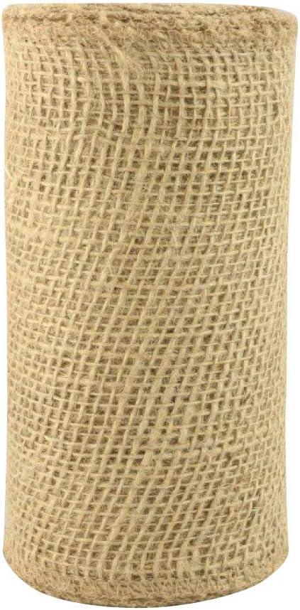 Natural Jute Fabric Burlap Ribbon - 6