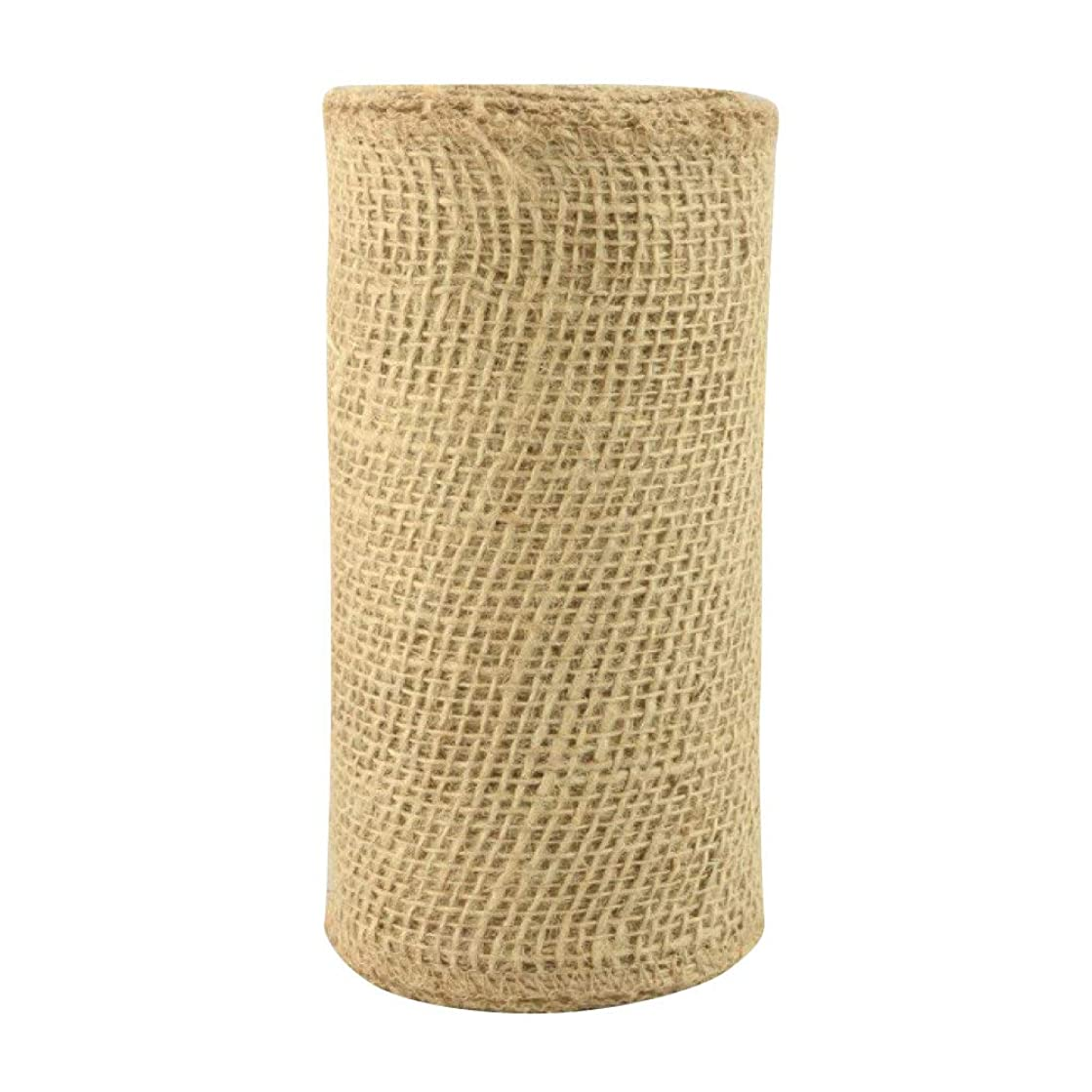 Natural Jute Fabric Burlap Ribbon - 6
