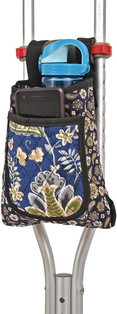 SP Ableware Super Special SALE held Crutch Bag - Print Cotton Miami Mall 703290000 Blue