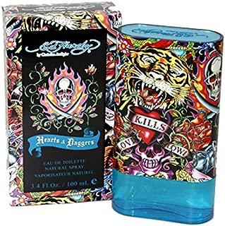 Christian Audigier Hardy Hearts and Daggers Eau de Toilette Spray for Men, .3.4 Ounce