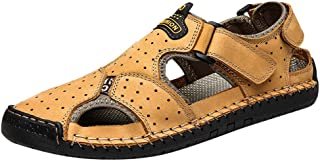 Men's Sports Water Sandals, Lefthigh Casual Slippers Flat Sandals Beach Hiking Shoes