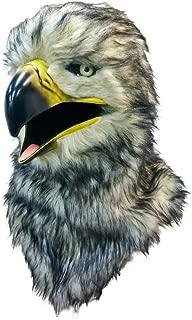 口が連動しリアルに動く!なりきりアニマルムービングマスク!【hawk/鷹】あなたも 超ヒューマンな動物キャラに大変身!