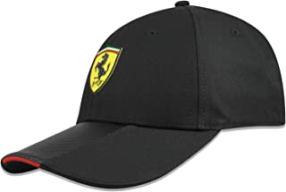 Branded Sports Merchandising B.V. Scuderia Ferrari F1 Black Carbon Hat