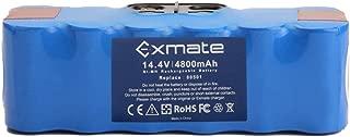 Exmate 4.8Ah Xlife Batería para iRobot Roomba, 14.4V 4800mAh Vida Extendida de 1200 Ciclos Compatible con iRobot Roomba Series 500 600 700 800 900