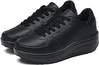 Baskets Mode Femme Chaussures de Multisports Outdoor Femme Chaussures de Running sur Route Hiver Chaussures de Sports Comp...