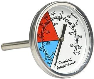 onlyfire Forno, barbecue a carbonella Smoker Gas Grill Termometro, 7,6cm quadrante