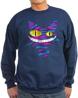 Silly Cheshire Cat Sweatshirt (Dark) - Classic Crew Neck Sweatshirt