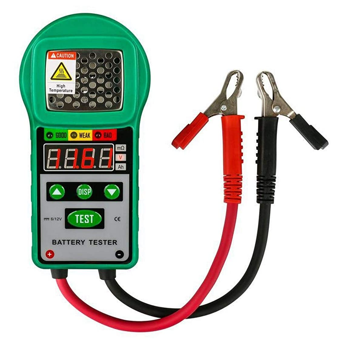 DUOYI DY225 Car Battery Tester Analyzer 6V 12V DC Automotive Resistance Test Auto for Electric Battery Energy Storage Marine, Made of Solid ABS,Measure Precisely