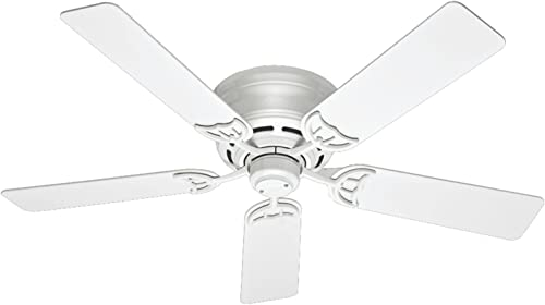 high quality Hunter online Indoor Low Profile III Ceiling Fan 2021 with Pull Chain Control outlet online sale