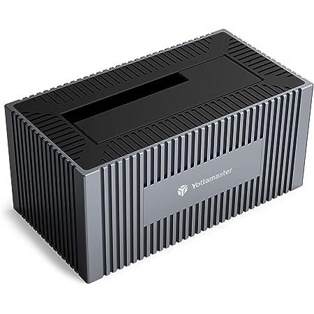 Yottamaster HDDスタンド USB3.0接続 2.5/3.5インチ SATA HDD/SSD対応 ハードディスクスタンド UASP 最大16TBまで大容量対応 hddお立ち台[SO5-1U3]