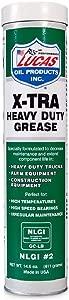 Lucas Oil 10301 Extra Heavy Duty Grease Cartridge
