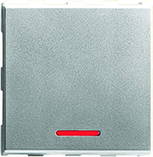 Anchor by Panasonic Roma Urban Modular 66244S_10 240 V Polycarbonate 2M 20A One-Way Switch with Indicator (Silver, Pack of...