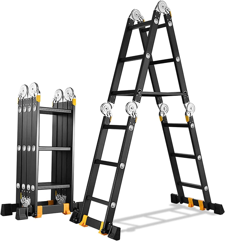 4.0mm Multi-Purpose Aluminum Alloy Super popular specialty store Extension Ranking TOP1 Heavy F Duty Ladder