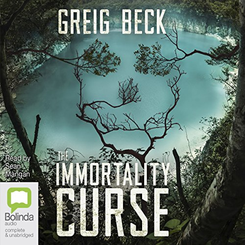 The Immortality Curse audiobook cover art