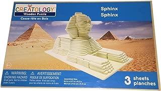 Creatology 3D Wooden Puzzle ~ Sphinx (8.8