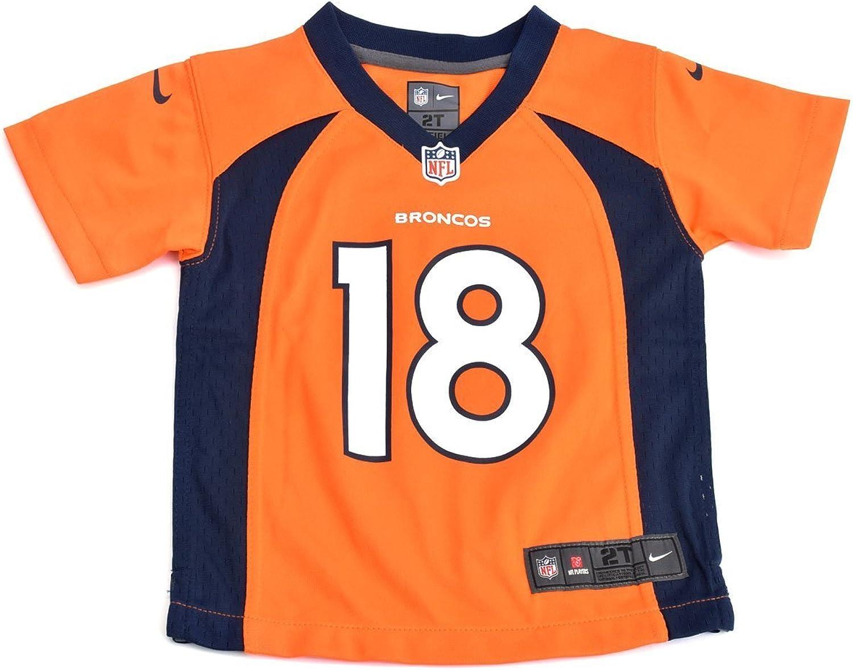 Nike Kids Boys Denver Broncos Peyton Manning  18 Game Jersey, orange