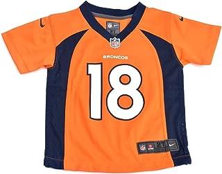 Nike Kids Boys Denver Broncos Peyton Manning #18 Game Jersey, Orange