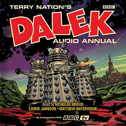 The Dalek Audio Annual audiobook cover art