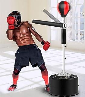 Gonfiabile Sacco da Boxe Autoportante Sacco da Boxe Fitness Alleviare Lo Stress Boxe Formazione Borsa Target per Adulti Bambini ZARQ Sacchi da Boxe