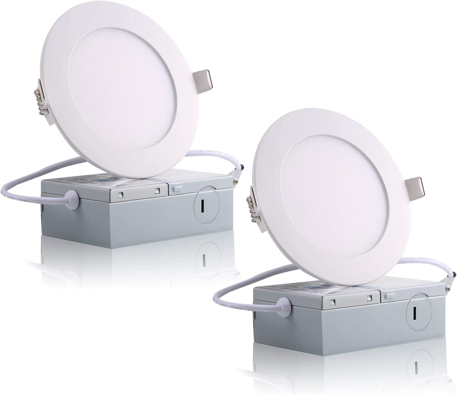 Complete Free Shipping ProGreen 12W Flat Limited price LED Panel Ultrathin Light Dimmable Lamp Round