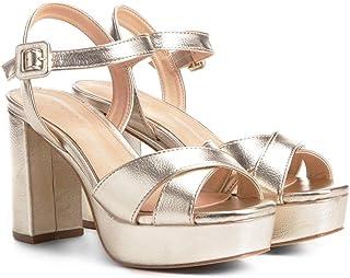 Sandália Shoestock Meia Pata Cruzada Feminina