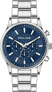 Bevilles Police Kastrup Watch Model PL15589JS/03M Stainless Steel 3 Hands,Multi Dial,Multifunction 4895220901345 Silver