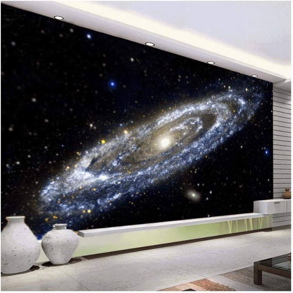 Custom 3d Mural Wallpaper Milky Way Nebula Universe Black Hole Theme Wallpapers For Living Room Bedroom Ceiling Mural Painting Amazon Com