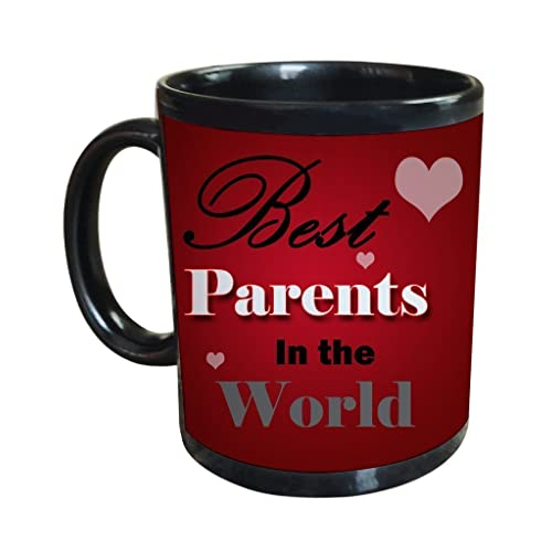 Tied Ribbons Best Parents In The World Printed Coffee Mug(325Ml)