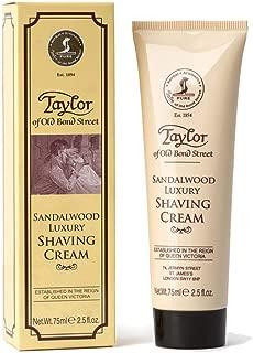 Taylor Of Old Bond Street Shaving Cream Sandalwood, 2.5-Ounce