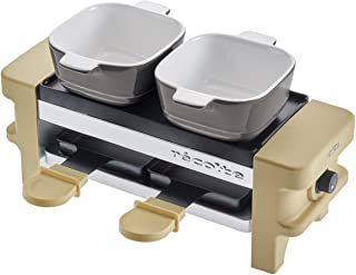 "recolte""Raclette & Fondue Maker Melt"" (Beige) RRF-1(BE)【Japan Domestic Genuine Products】【Ships from Japan】"