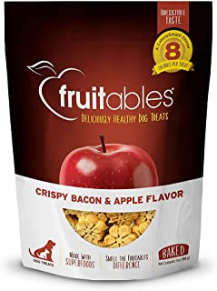 Fruitables Crispy Bacon and Apple Flavor, Multi-Colour