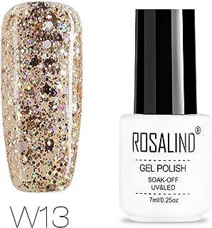 ROSALIND diamond series color gel nail polish primer art design lacquer semi-permanent Soak Off UV varnish 7 ml