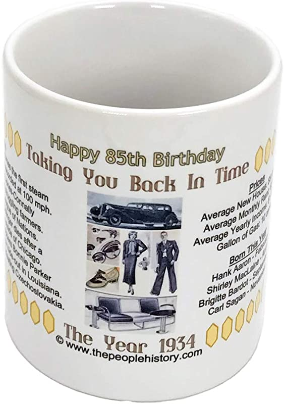 85th Birthday Gift Coffee Mug