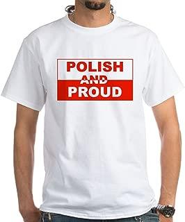 CafePress Polish and Proud-II White T-Shirt Cotton T-Shirt