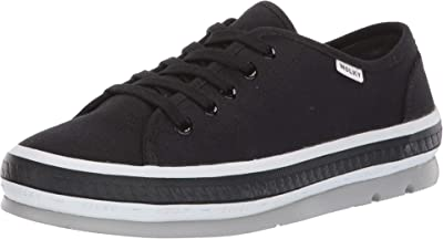 Wolky Linda (Black Canvas) Women