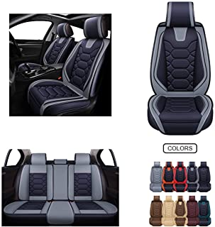 Grebest Car Seat Cover Car/Seats/Accessoires Cushion 1Pc//3Pcs Universal Car Front Rear Seat Cover Pad Winter Warm Plush Cushion Beige Front Seat