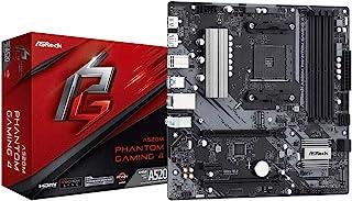 ASRock AMD Ryzen5000シリーズ(Soket AM4)対応 A520チップセット搭載 MicroATX マザーボード【国内正規代理店品】A520M Phantom Gaming 4