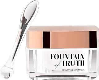 Fountain of Truth Honey Glow Mask – Hydrating & Brightening Organic Honey Skin Care Treatment – Moisturizing Mask for Soft...