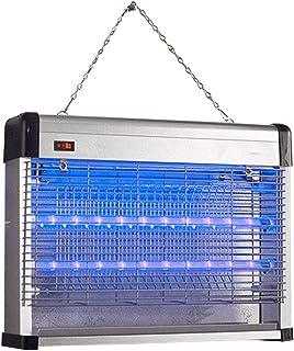Lámpara for Mosquitos de 5 vatios, lámpara Trampa asesina contra Insectos, silenciosa y no tóxica, for la habitación de la cafetería del jardín de Cocina, de pie o suspendida